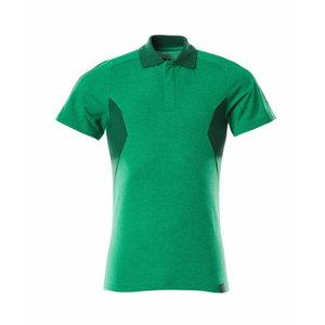 Polosärk Accelerate, rohuroheline/roheline XS, Mascot