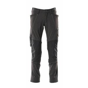 Kelnės  ACCELERATE 18479 full stretch, juoda 82C48, Mascot