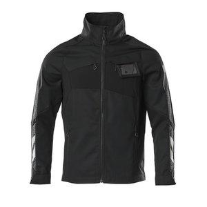 Elastīga darba jaka Accelerate, melna XL