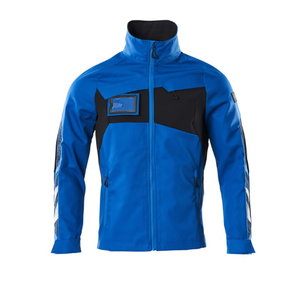 Elastīga darba jaka Accelerate partly strech, azure blue/dar 2XL, , Mascot