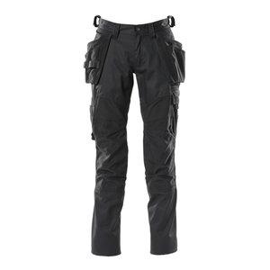 Kelnės  ACCELERATE stretch, juoda, holster pockets, Mascot