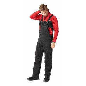 Bib-trousers Accelerate stretch zones, black, Mascot