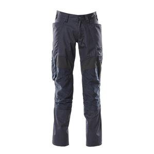 Trousers kneepad pockets ACCELERATE strets, dark navy 82C48, Mascot