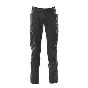 Kelnės  ACCELERATE stretch, juoda 82C50, Mascot