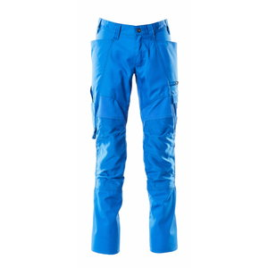 Elastīgas darba bikses ACCELERATE, gaiši zilas 82C46, MASCOT