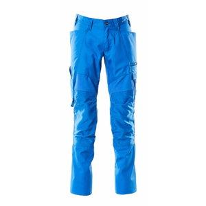 Elastīgas darba bikses ACCELERATE, gaiši zilas 82C60