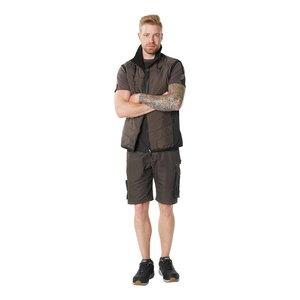 Vest Unique, tumehall/must, Mascot