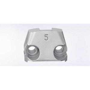 lõiketera matriits (5mm) N 500 nakerdajale, 1tk