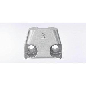 lõiketera matriits (3mm) N 500 nakerdajale, 1tk