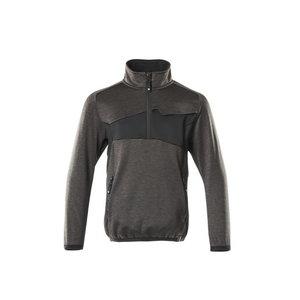 Džemperis vaikiškas Fleece  Accelerate, antracitas/juoda 152, Mascot