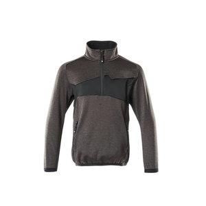 Flīsa džemperis bērniem Accelerate, tumši pelēks/melns 164, , Mascot