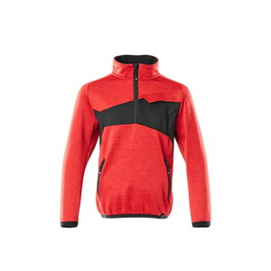 Fleece Jumper for children Accelerate, red, Mascot
