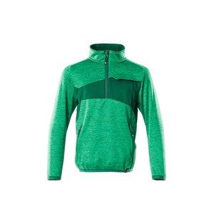 Flīsa džemperis bērniem Accelerate, zaļš, Mascot