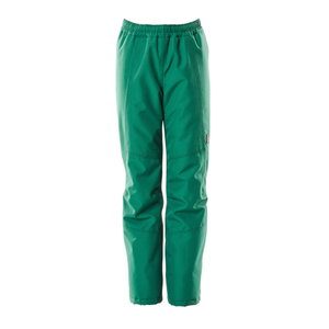 Winter over pants for children Accelerate, green, Mascot