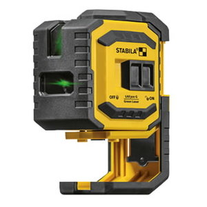 Crossed line plus plumb points laser LAX 300 G, Stabila