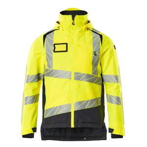 Hi. vis winterjacket Accelerate Safe, CL3, yellow/dark navy, Mascot