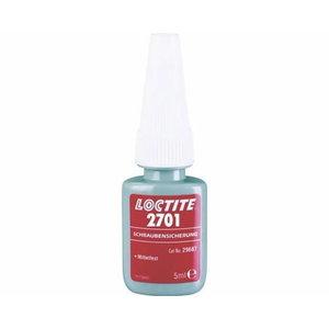 Sriegių fiksavimo klijai LOCTITE 2701 5ml (38Nm) 5ml, Loctite