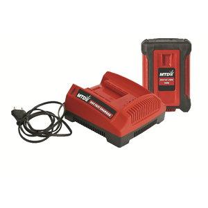 Akumulatora un lādētāja komplekts  40V LI-ION 2,0Ah , MTD