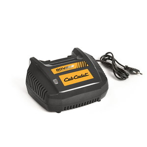 Fast charger 6A for 80V battery range, Cub Cadet