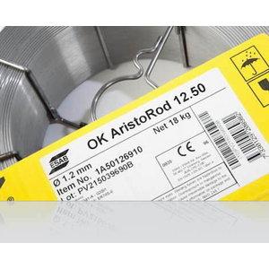 Suvirinimo viela OK AristoRod 12.50 1,0mm 18kg, ESAB