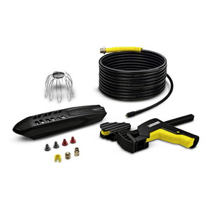 Gutter and pipe cleaning set, Kärcher
