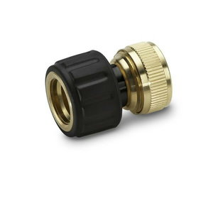 Hose coupling brass 3/4´´ Aquastop, Kärcher