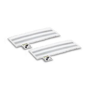 Microfibre floor cloths abrasive 2-er Set, Kärcher