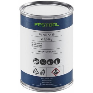 Läbipaistev PU liimaine - CONTURO KA 65 - 4tk, Festool