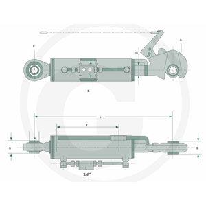 Hydraulic top link, Granit