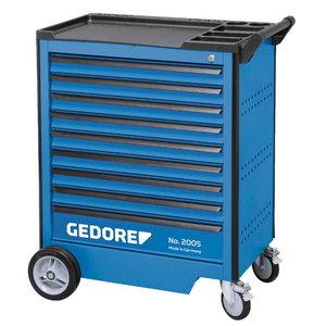 Įrankių vežimėlis 2005  9 stalčių 985x775x435mm 0810, Gedore