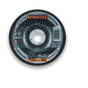 Шлифовальный диск RS24 TOP 125x6,0, RHODIUS