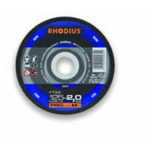 Metallilõikeketas 125x3x22,23 FT33 PRO line, Rhodius
