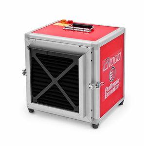 Air cleaner 1000m3, prefilter+H13, Pullman