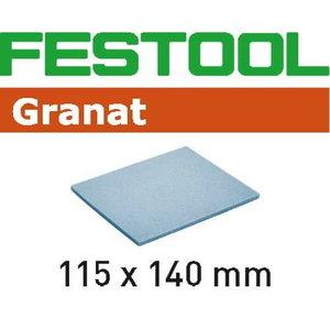 Abrasive sponge GRANAT 115x140x5mm, UF1000 - 20pcs, Festool