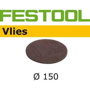 Slīpripa VLIES 150mm, SF 800 - 10 gab., Festool