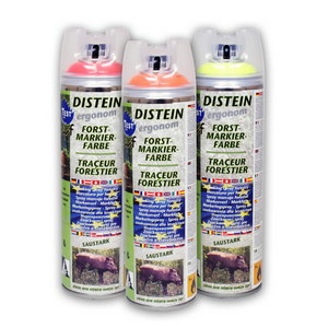 Distein Forest marking - Neon Yellow 500ml, Motip