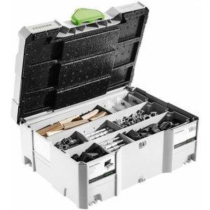 Systainer kast koos Domino liitelülidega SV-SYS D14, Festool