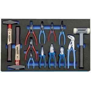 Moodul tööriistadega 2005 CT4-8000 13-osa, Gedore