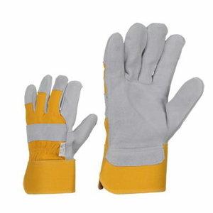 Gloves, Split cow leather 10,5, Stokker
