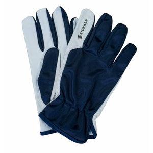Gloves, goatskin, nylon back, 11, Stokker