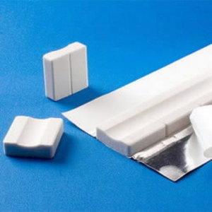 Ceramic backing FR 271009T flat (pack18m)  L=600mm/pc, NST Polska Sp.Zo.o