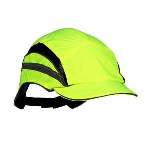 Bumpcap First Base 3 Classic HI-VIS Yellow RP 55mm, , 3M