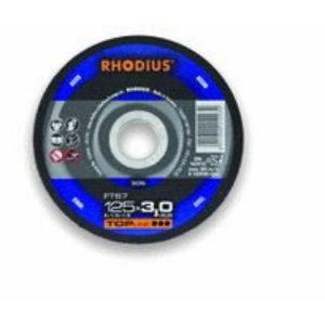 Metallilõikeketas 125x2,5x22,23 FT67 TOP line, Rhodius
