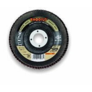 Lameļu disks LSZ F1 Pro 115x22 K60, RHODIUS Schleifwerkzeuge