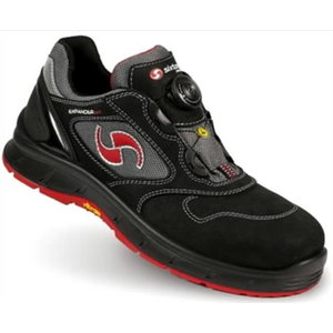 Safety shoes Victory, Expander, black/red, S3 SRC 44, Sixton Peak