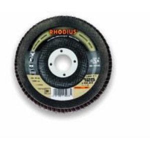 Flap disc 125x22,23 G60 LSZF1, Rhodius