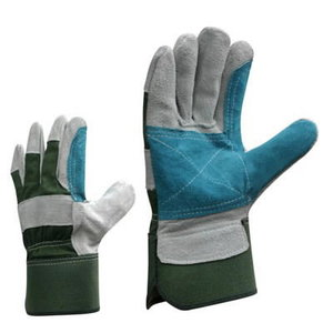 Gloves, leather, with a double palm 10