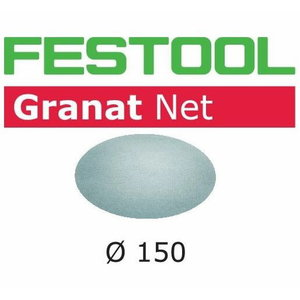 Šlifavimo tinkleliai STF D150 P100 GR NET/50 vnt., Festool