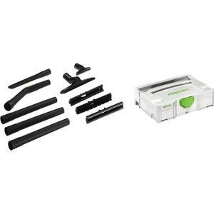 Compact tolmuimeja otsikute komplekt D 27/36, K-RS-Plus, Festool