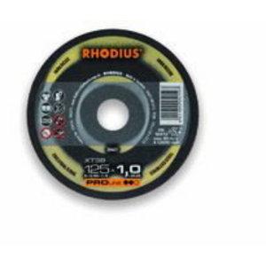 Pjovimo diskas nerūdijančiam plienui XT38 125x1.5, Rhodius